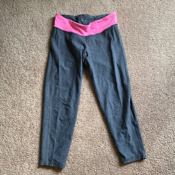 Reversible Grey Leggings